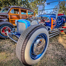 Flamed Rod by Ron Meyers - Transportation Automobiles