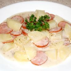 Kielbasa and Potato Bake