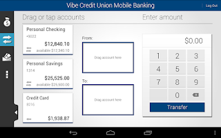 Screenshot of Vibe Credit Union