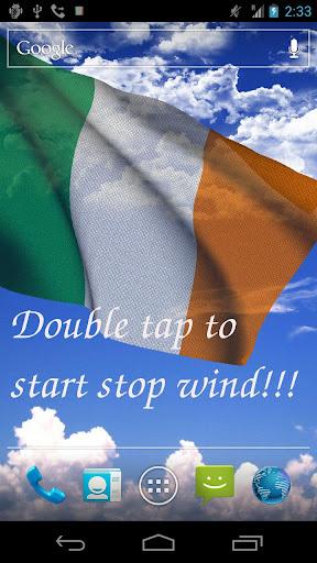3D Ireland Flag LWP +