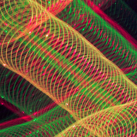 Elbow of light ! by Jim Barton - Abstract Patterns ( laser light, colorful, light design, elbow, laser design, laser, elbow of light, laser light show, light, science )