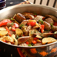 Six-Pack Brat Stew