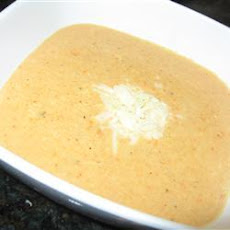 Cream of Cauliflower Cheese Soup