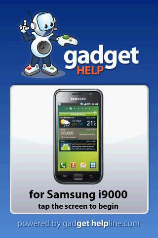 Samsung i9000 - Gadget Help