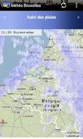 Screenshot of Météo Bruxelles