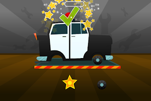 Screenshot of Car Builder - free kids game