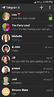 Screenshot of Telegram X