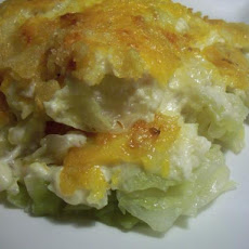 Cabbage Potato Chip Casserole