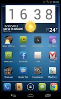Screenshot of Suave Theme for Go Launcher