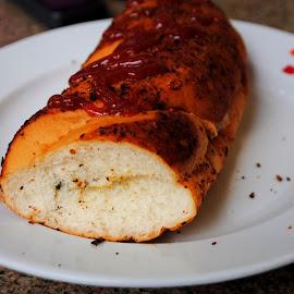 Delicious. . . . by Shishir Kumar - Food & Drink Plated Food ( cafecoffeeday, sandwich, food, delicious, taste )