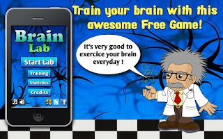 Screenshot of Brain lab - brain age games IQ