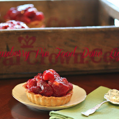 Lightened Strawberry Pie