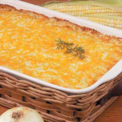 Sweet Onion Corn Bake
