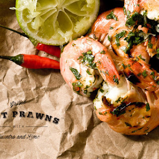Cilantro Lime Prawns Recipes