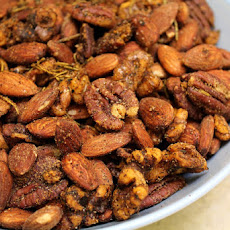 Spicy Roasted Almonds, Pecans, &Walnuts