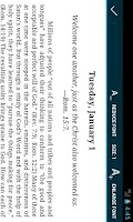 Screenshot of Daily Text 2014 - Lite