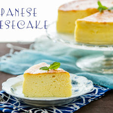 Japanese Cheesecake (Souffle Cheesecake)
