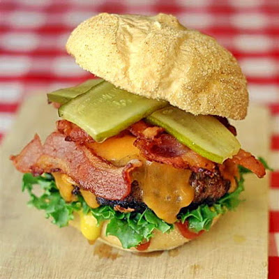 Sundried Tomato Bacon Burgers