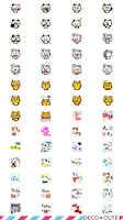 Screenshot of Animal emoticons Pack for DECO