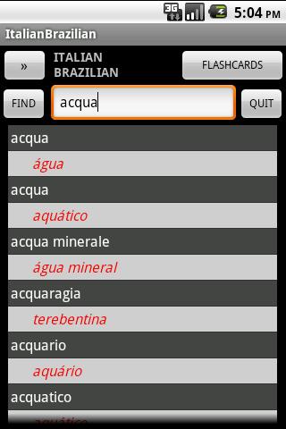 Brazilian Italian Dictionary