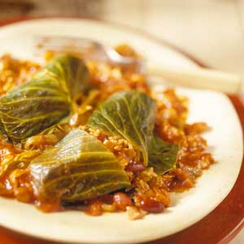 Sweet and Sour Cabbage Rolls