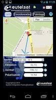 Screenshot of Eutelsat satellite finder