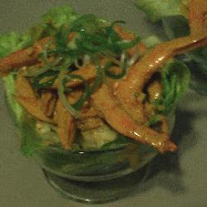 Prawn Cocktail in Lettuce Cups