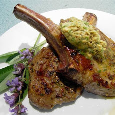 Veal Chops with Mustard-sage Butter