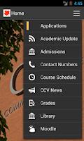 Screenshot of CCV