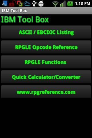 IBM RPG Programmer Quick Guide