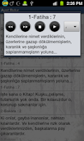 Screenshot of Ayet Bulur: Kuran ve Hadis