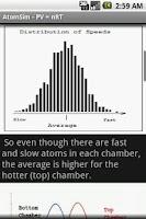 Screenshot of Gas Atom Simulator