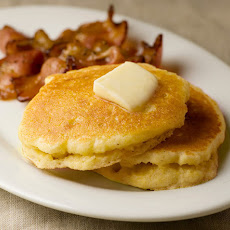 Buttermilk Cornmeal Pancakes