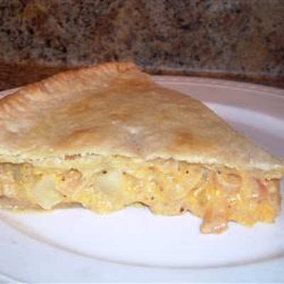 Cheese and Onion Pie