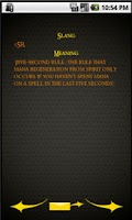 Screenshot of WoW Slang Dictionary