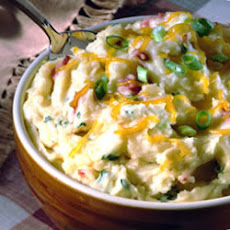 Creamy Cheesy Mashed Potatoes