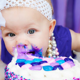 Let Her Eat Cake! by Ashley Rodriguez - Babies & Children Babies