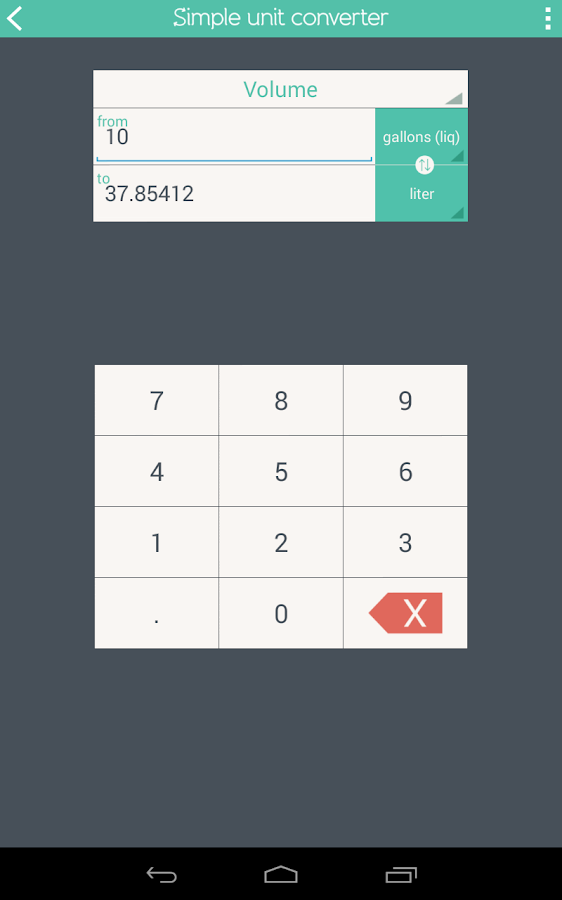 Simple Unit Converter Screenshot 18
