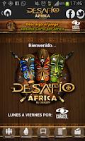 Screenshot of DESAFÍO ÁFRICA