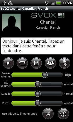 SVOX CA French Chantal Voice
