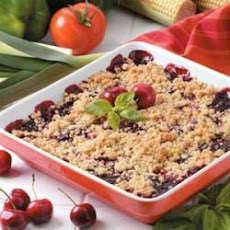 Cheery Cherry Crisp