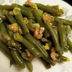 Lemon Walnut Green Beans