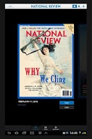 Screenshot of National Review