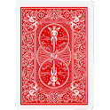 Magic card in mobile icon