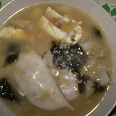 Korean Rice Cake Soup (Duk Guk)