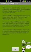 Screenshot of 3G Watchdog Pro SMS extension