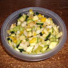 Sweet and Sour Zucchini Salad