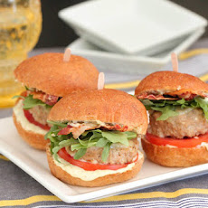 Adobo Feta Turkey BLT Sliders