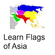Learn Flags of Asia