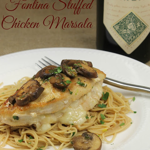 Fontina Stuffed Chicken Marsala
